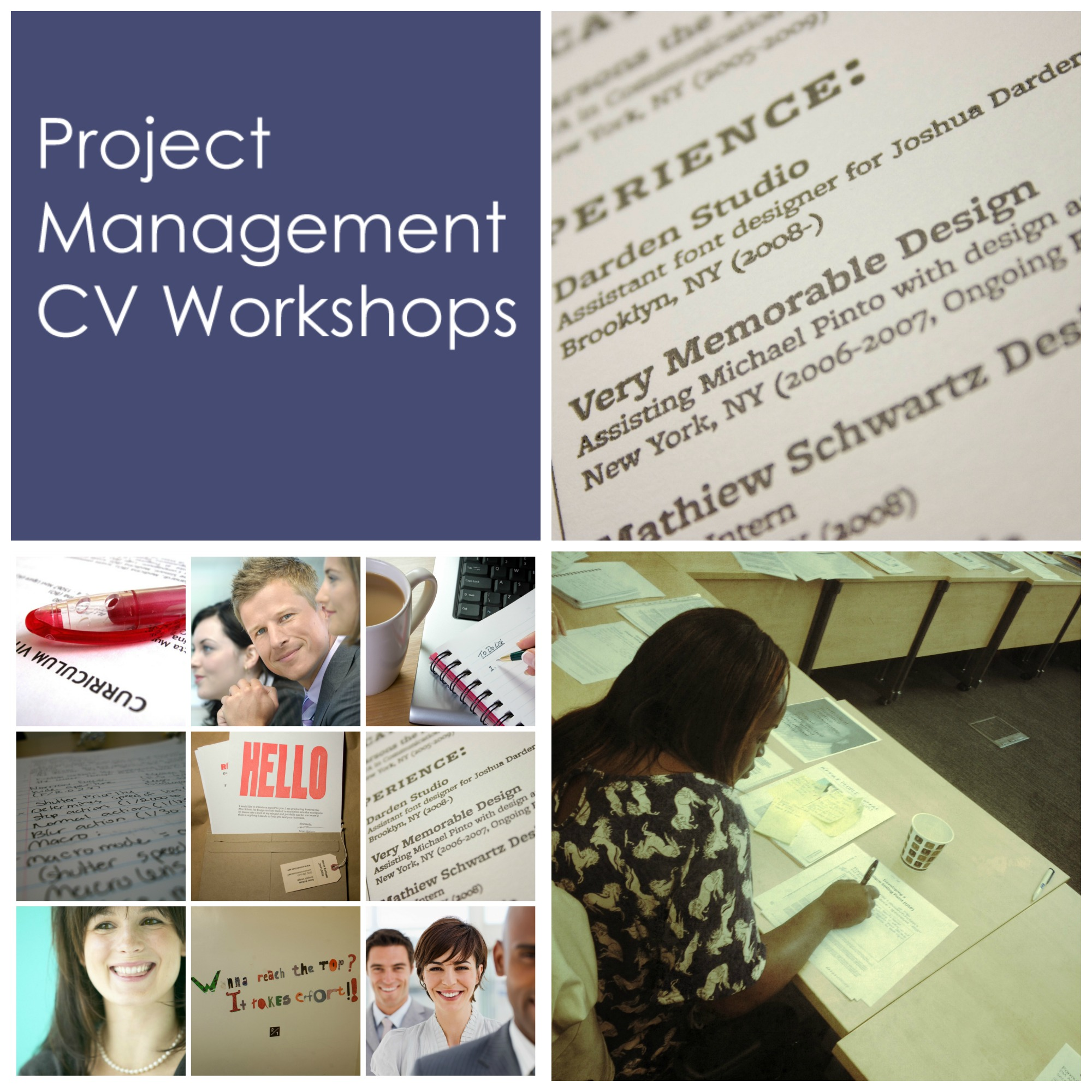 Project Management Career Support