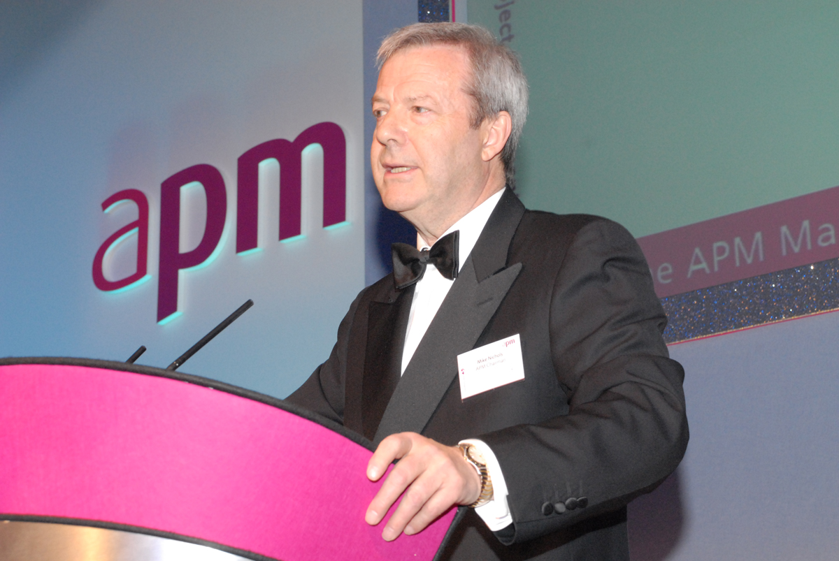 Mike Nichols, Respected APM Leader and Projects Industry Executive, passes away in London
