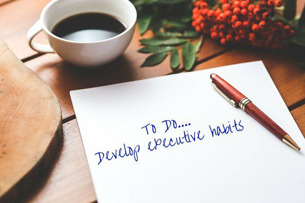 executive habits